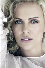 Preview iPhone wallpaper Charlize Theron 05