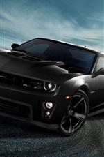 Chevrolet Camaro ZL1 черного авто