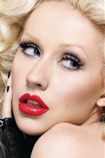 Preview iPhone wallpaper Christina Aguilera 14