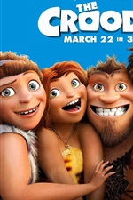 Preview iPhone wallpaper DreamWorks movie, The Croods