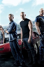 Preview iPhone wallpaper Fast And Furious 6 HD