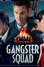 Preview iPhone wallpaper Gangster Squad HD