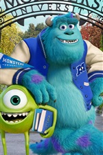 Preview iPhone wallpaper Monsters University HD