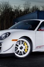 Porsche 911 GT3 RS 4.0 de cor branca