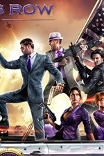 Preview iPhone wallpaper Saints Row 4