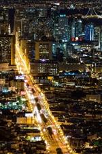 Preview iPhone wallpaper San Francisco beautiful city night