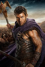 Preview iPhone wallpaper Spartacus: War of the Damned HD