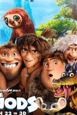 Preview iPhone wallpaper The Croods HD movie