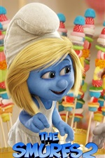 Preview iPhone wallpaper The Smurfs 2