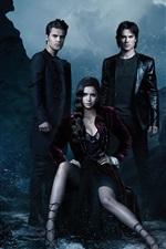 미리보기 iPhone 배경 화면 뱀파이어 일기, TV 시리즈, 시즌 4 HD
