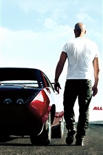 Preview iPhone wallpaper Vin Diesel in Fast and Furious 6