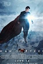 Vorschau des iPhone Hintergrundbilder 2013 Man of Steel HD