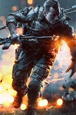 Preview iPhone wallpaper 2013 game, Battlefield 4