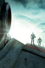 Preview iPhone wallpaper 2013 movie, Pacific Rim