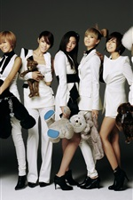 Preview iPhone wallpaper After School, South Korea, asian music girls 01