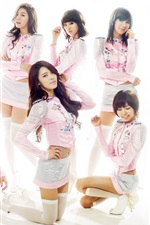 Preview iPhone wallpaper After School, South Korea, asian music girls 05