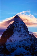 Preview iPhone wallpaper Alps, the world's highest mountain