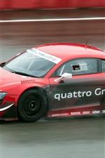 Audi R8 LMS ultra sports car in the race