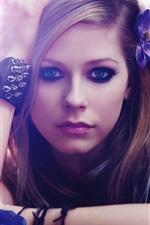 Preview iPhone wallpaper Avril Lavigne 45