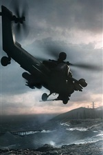 Battlefield 4 helicopter