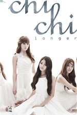 Preview iPhone wallpaper CHI CHI Korean music girl group 01