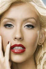 Preview iPhone wallpaper Christina Aguilera 16