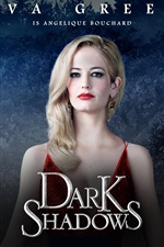 iPhone обои Ева Грин в Dark Shadows