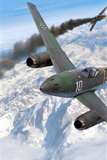 Preview iPhone wallpaper Fighters in the air war