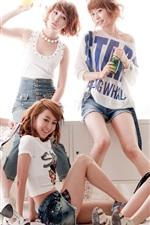 미리보기 iPhone 배경 화면 소녀의 날, 한국 음악 소녀 03