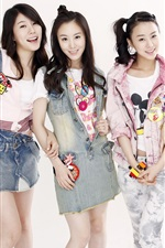 Preview iPhone wallpaper Girl's Day, Korea music girls 04