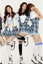 Preview iPhone wallpaper Girl's Day, Korea music girls 06