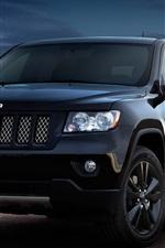 iPhone fondos de pantalla Jeep Grand Cherokee concept car