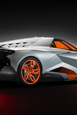 Lamborghini Egoista 2013 supercar side view