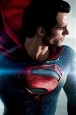 Preview iPhone wallpaper Man of Steel, superhero
