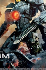 Preview iPhone wallpaper Pacific Rim, the robot hero
