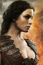 Preview iPhone wallpaper Rachel Nichols in Conan the Barbarian