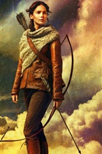 Preview iPhone wallpaper The Hunger Games: Catching Fire HD