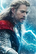 Preview iPhone wallpaper Thor: The Dark World 2013