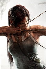 Preview iPhone wallpaper Tomb Raider, Ready to fly