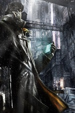 Preview iPhone wallpaper Watch Dogs
