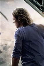 Vorschau des iPhone Hintergrundbilder World War Z 2013