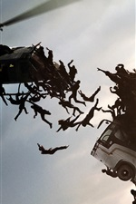 Preview iPhone wallpaper 2013 movie, World War Z