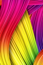 Preview iPhone wallpaper Abstract colors, colorful background