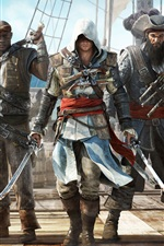 Preview iPhone wallpaper Assassin's Creed 4: Black Flag 2013