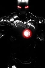 Preview iPhone wallpaper Dark Iron Man
