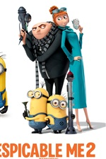 Preview iPhone wallpaper Despicable Me 2