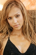 Preview iPhone wallpaper Jessica Alba 15