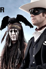 Preview iPhone wallpaper The Lone Ranger