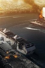 Vorschau des iPhone Hintergrundbilder World War Z, Zombie Belagerung