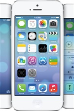 Preview iPhone wallpaper iOS 7 in iPhone 5